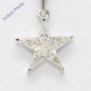 18K Kite Diamond Star Pendant 0.69 Ct C19000284